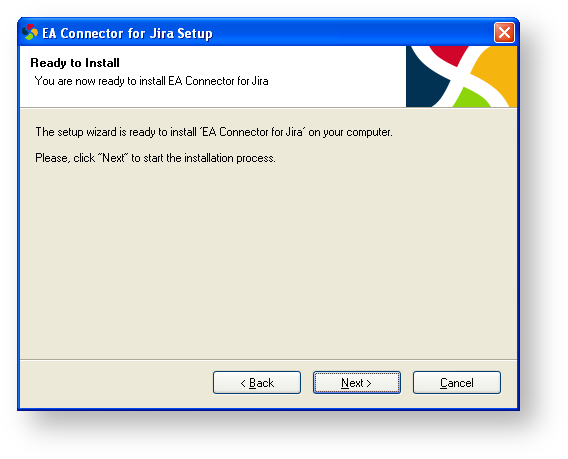 Installation Guide - EA Connector for JIRA 5 1 x - Confluence